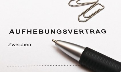 Aufhebungsvertrag Auflösungsvertrag Info Arbeitsrecht Hamburg